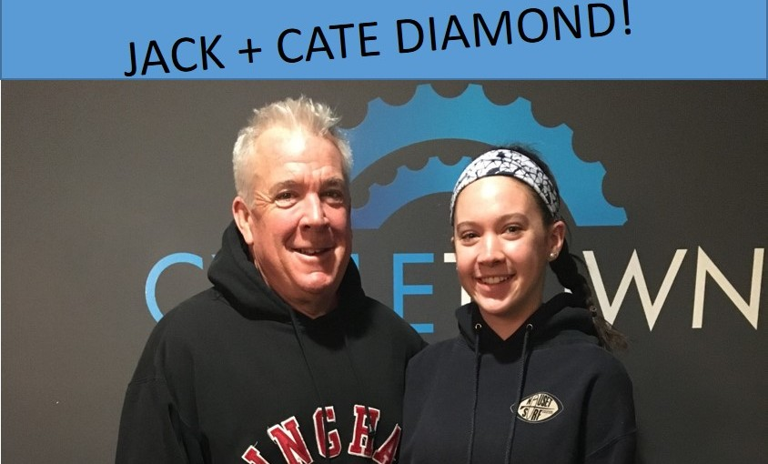Rider Spotlight:  Jack and Cate Diamond